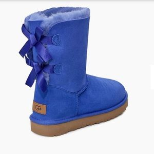 UGG Bailey Bow Boots Light Blue